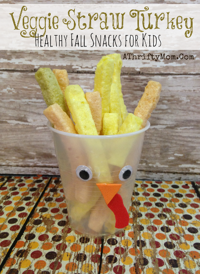 healthy thanksgiving-themed snacks kids can make